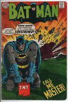 """DC COMICS Batman #215 Sept. 1969 """"Call Me Master"""" GD"""