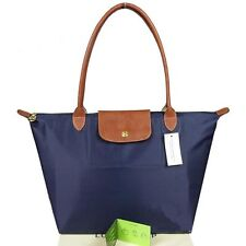 Original Longchamp Tote Le Pliage Dunkelblau Authentic France Tasche Größe L