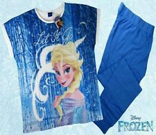 adult official disney frozen pyjames size 6/8