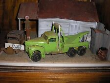 1/24 1/25 Custom 1940's Ford F-100 4x4 Dual Axle Tow Truck wrecker for parts