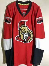 Reebok Authentic NHL Jersey Ottawa Senators Team Red sz 46