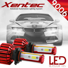XENTEC LED HID Headlight Conversion kit 9006 6000K for 1995-1996 Audi A6