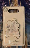 Walt Disney World Mickey Resort Sketch Castle Pin New OE Pin