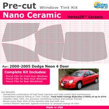 All Windows CER Precut Ceramic Window Tint For Dodge Neon 4 Door 1995-1999