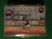 2001 GRANDSTAND NASHVILLE SOUNDS TEAM CARD SET
