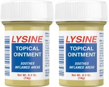2X Lysine Topical Ointment 0.5 oz (14g) Cold Sores LIP BALM-24HR DIASPATCH