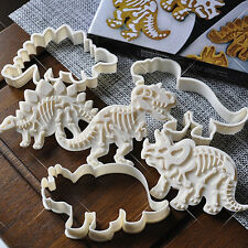 CO_ 6X Cake Decoration Dinosaur Cookies Cutter Biscuit Moulds Baking Molds Prett