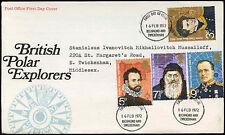 GB FDC 1972 British polari Esploratori, Richmond IED #C 19338