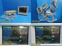 Agilent M1204A / V24C Multiparameter Patient Monitor W/ Modules & Leads ~ 20232