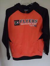 Vintage Reebok Philadelphia Flyers Premium Hockey Hoodie Sweatshirt Youth Large