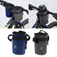 MagiDeal Cycling Holder Pouch Bicycle Front Handlebar Insulation Bottle Bag