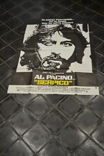 AFFICHE CINEMA 120 X 160  - SERPICO - AL PACINO -  COMME  NEUVE