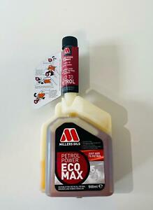 Nevlock Millers Oils Petrol Power Ecomax Fuel Treatment Additive 500ml - 6205