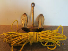 Maritime Salvaged, Swivel Fluke, Boat Anchor