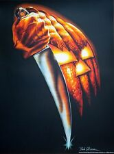 Rare Bob Gleason HALLOWEEN ART PRINT Movie Poster Signed/# LE #/200 Mondo Screen