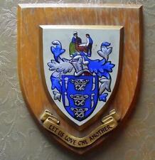 More details for old  nurse midwife college university hospital school crest plaque shield