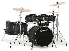 Premier Drums XPK Series 7 Piece Shell Pack Kit/Black Ash Satin/Quick FIve