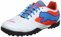 NEW  BOYS PUMA POWERCAT 4 TT  Jr  Kids Astro  Turf Football Trainers Soccer Shoe