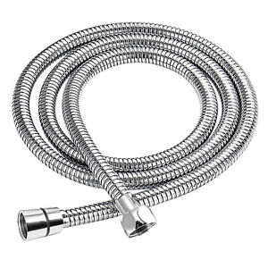 1.2M SHOWER HOSE STAINLESS STEEL REPLACEMENT FLEXIBLE CHROME BATHROOM PIPE