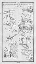 1778 Ireland Portarlington Mountmellick  Killeigh Stradbally Antique Road Map