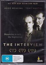 THE INTERVIEW - Hugo Weaving, Tony Martin, Aaron Jeffery - DVD