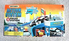 RARE MATCHBOX: POLICE STATION (ACTION SYSTEM #5, 1996!). BRAND NEW, OLD STOCK!