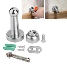 Door Stop Stopper Magnet Door Holder Catch Stopper Stainless Steel Doorstop New
