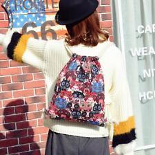 Men Women Drawstring Sports Bag Large lightweight Gym Travel Sackpack Backpack