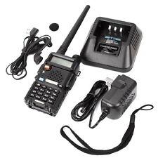 Baofeng UV-5R 136-174/400-520MHz DCS DTMF Dual Band Ham Radio Walkie Talkies