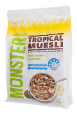 Tropical Muesli - 6 x 700g - Macadamia & Coconut - Free Shipping Orders $25+