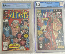 The New Mutants #98 9.2 & #87 9.4 1st App of Deadpool,Cable, & Domino 🔑 Issues!