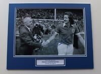 Frank Worthington In Leicester City Shirt HAND SIGNED Autograph Photo Mount COA