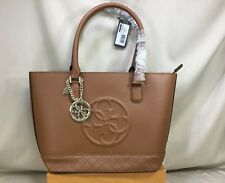NWT Guess Korry Cognac Tote