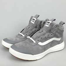 VANS Ultrarange Hi MTE (Wool) Frost Gray Suede Weather Resistant Sneaker Boot