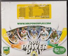 NRL RUGBY LEAGUE 2013 ESP POWER PLAY CARDS FACTORY SEALED BOX