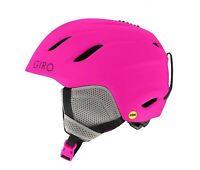 GIRO Nine Jr Mips Snowboard Snow Sports Helmet Youth Sz Medium Bright Pink