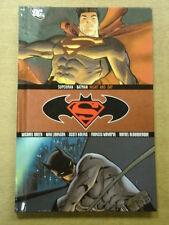 SUPERMAN BATMAN NIGHT AND DAY GREEN JOHNSON KOLINS MANAPUL DC HB 9781401227920