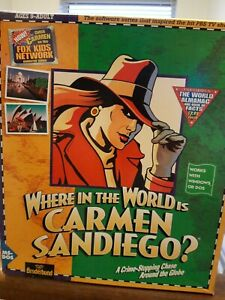 Vintage Computer Game 1990 - Where in the World is Carmen Sandiego?