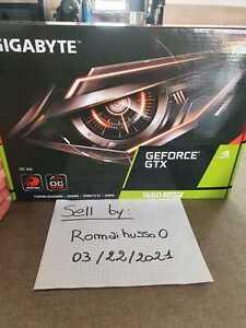 GIGABYTE GeForce GTX 1660 SUPER GAMING GDDR6 Graphics Card - 6GB