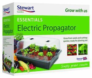 52cm Electric Propagator Heated Plant Seed Herbs Cutting Indoor Garden Tray Pot