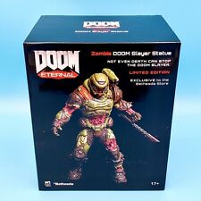 "Doom Eternal Zombie Doom Slayer Statue 8"" Limited Edition Polyresin Figure"