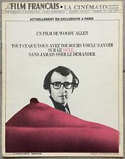The Film French the Cinématographie French Brand What You Have Woody Allen *