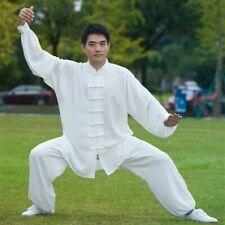 Men Tai Chi Suit Kung Fu Shirt and Pants Chinese Wushu Uniform Martial Arts Sets