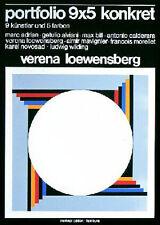 Loewensberg, Verena - 1976 - Portfolio 9x5 konkret