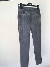 Grey Soft Stretch Designer Airfield Jeans Ladies Size 10