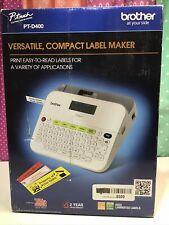 Brother Pt D400 Label Maker Pt400d Versatile Compact
