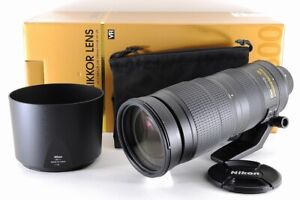 [Top Mint In Box] Nikon AF-S NIKKOR 200-500mm F/5.6 E ED VR Lens From Japan