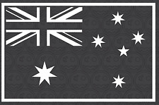 AUSTRALIAN FLAG OZIE Sticker Decal 150mmW Car UTE iPad MacBook Straya Man Cave
