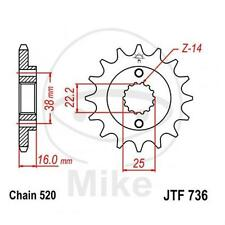 JT Sprockets Ritzel 14 Zähne Teilung 520 Alt. Ducati Monster 696 750 ABS City