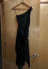 EXPRESS LONG BLACK MESH BACK MAXI DRESS SLEEVELESS Sz 4